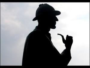 Sherlock silohoutte